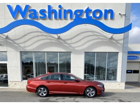 Radiant Red Metallic 2020 Honda Accord EX-L Sedan