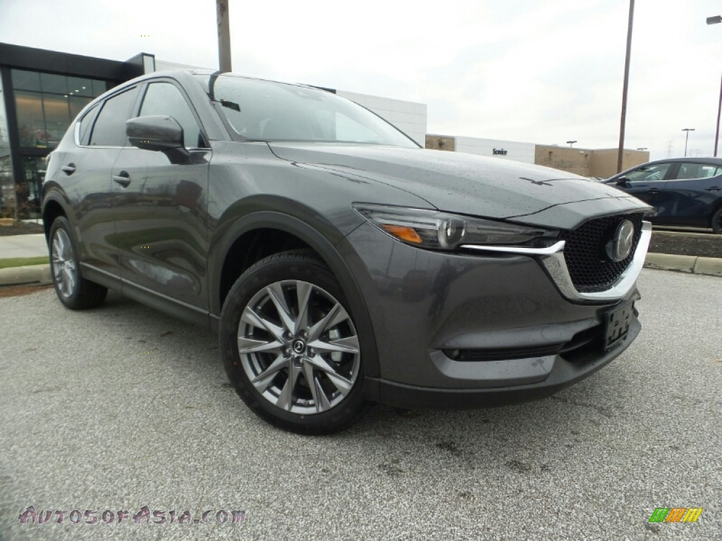 2020 CX-5 Grand Touring AWD - Machine Gray Metallic / Black photo #1