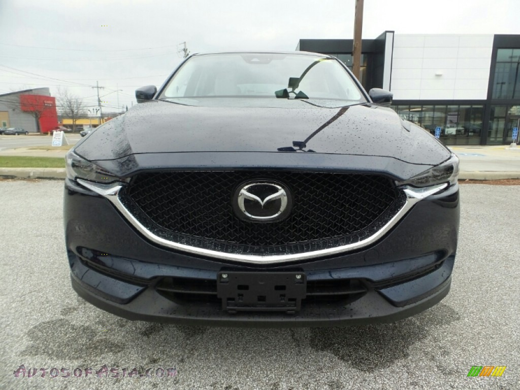 2020 CX-5 Grand Touring AWD - Deep Crystal Blue Mica / Parchment photo #2