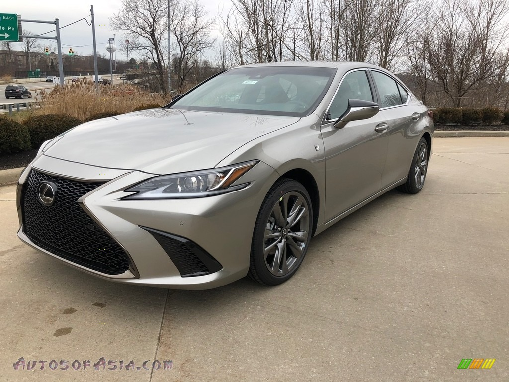 2020 ES 350 F Sport - Atomic Silver / Black photo #1