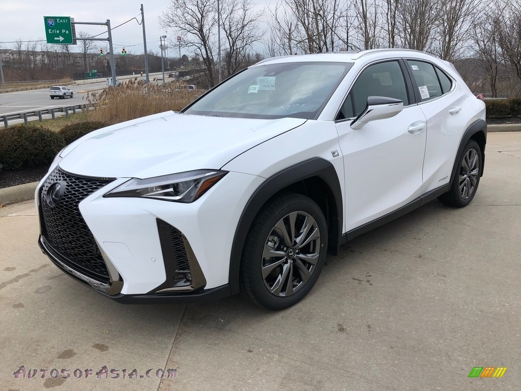 2020 UX 250h F Sport AWD - Ultra White / Black photo #1