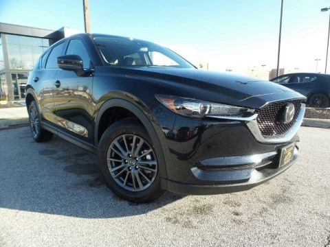 Jet Black Mica 2020 Mazda CX-5 Touring AWD