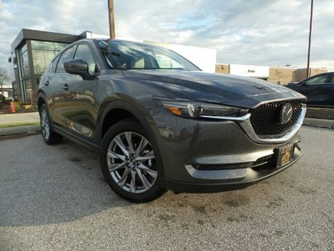 Machine Gray Metallic 2020 Mazda CX-5 Grand Touring AWD