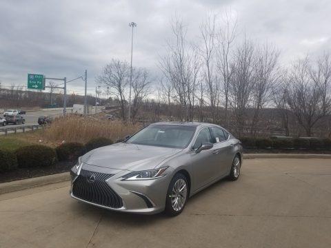 Atomic Silver 2020 Lexus ES 350
