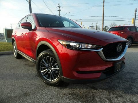 Soul Red Crystal Metallic 2020 Mazda CX-5 Touring AWD