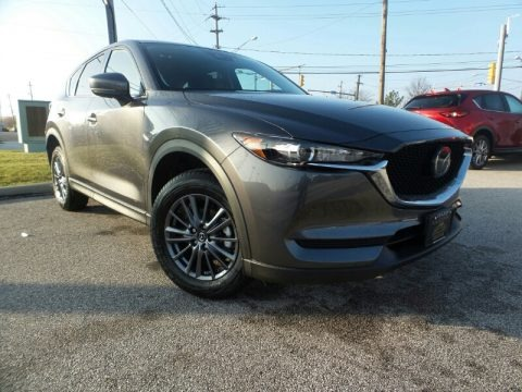 Machine Gray Metallic 2020 Mazda CX-5 Touring AWD