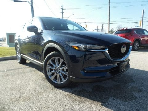 Deep Crystal Blue Mica 2020 Mazda CX-5 Grand Touring AWD