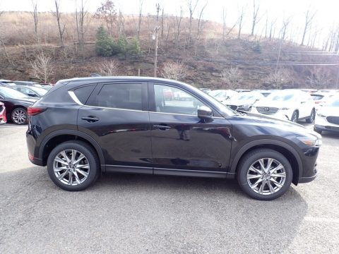 Jet Black Mica 2020 Mazda CX-5 Grand Touring AWD
