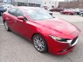 Mazda MAZDA3 Select Sedan AWD Soul Red Crystal Metallic photo #3