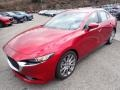 Mazda MAZDA3 Select Sedan AWD Soul Red Crystal Metallic photo #5