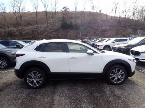 Snowflake White Pearl Mica 2020 Mazda CX-30 Preferred AWD