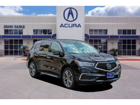 Majestic Black Pearl 2020 Acura MDX Technology