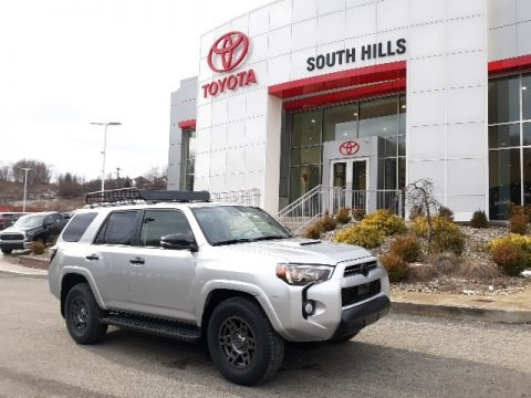 Classic Silver Metallic 2020 Toyota 4Runner Venture Edition 4x4
