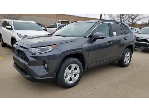Magnetic Gray Metallic 2020 Toyota RAV4 XLE AWD Hybrid