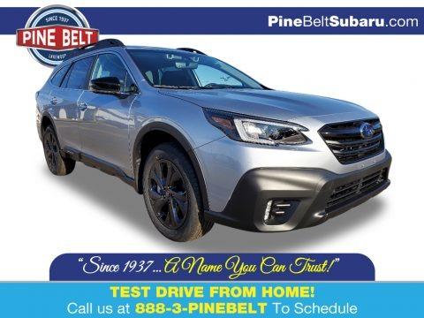 Ice Silver Metallic 2020 Subaru Outback Onyx Edition XT