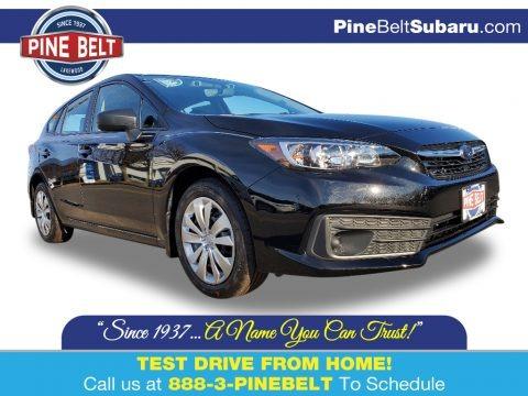 Crystal Black Silica 2020 Subaru Impreza 5-Door