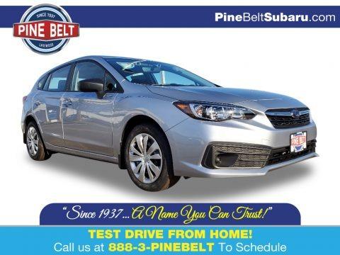 Ice Silver Metallic 2020 Subaru Impreza 5-Door