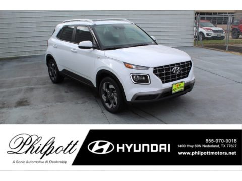 Ceramic White 2020 Hyundai Venue SEL