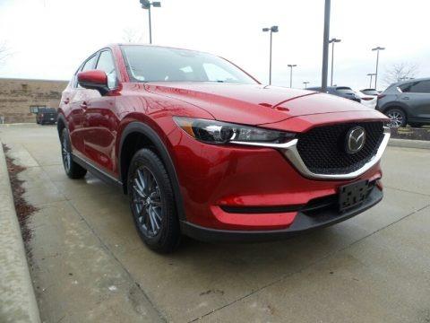 Soul Red Crystal Metallic 2020 Mazda CX-5 Sport AWD