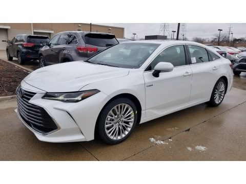 Wind Chill Pearl 2020 Toyota Avalon Hybrid Limited