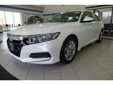 Platinum White Pearl 2020 Honda Accord LX Sedan