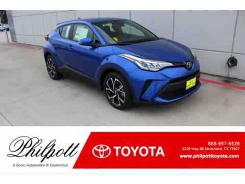 Blue Eclipse Metallic 2020 Toyota C-HR XLE