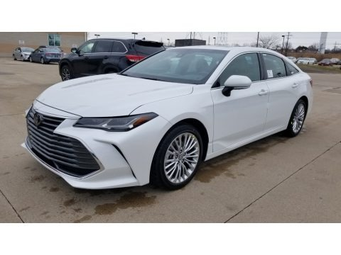Wind Chill Pearl 2020 Toyota Avalon Limited