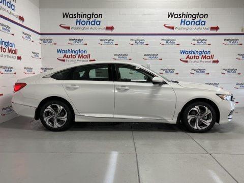 Platinum White Pearl 2020 Honda Accord EX Sedan
