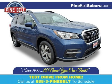 Abyss Blue Pearl 2020 Subaru Ascent Premium