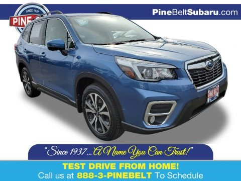 Horizon Blue Pearl 2020 Subaru Forester 2.5i Limited