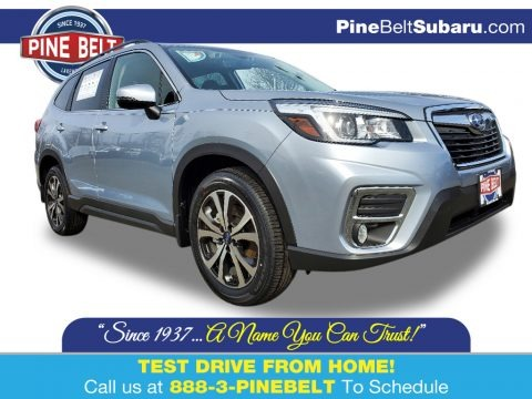 Ice Silver Metallic 2020 Subaru Forester 2.5i Limited