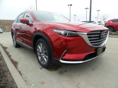 Soul Red Crystal Metallic 2020 Mazda CX-9 Grand Touring AWD