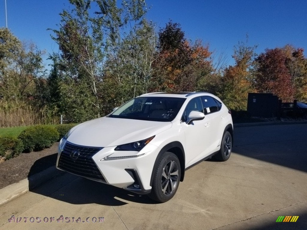 2020 NX 300h AWD - Eminent White Pearl / Creme photo #1