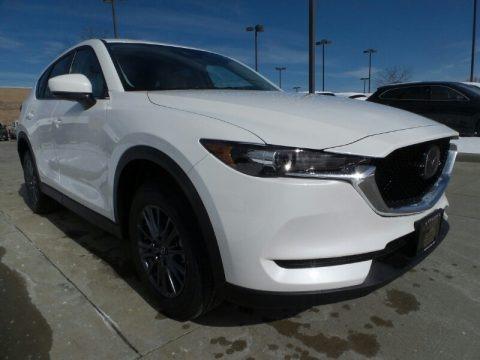 Snowflake White Pearl 2020 Mazda CX-5 Touring AWD
