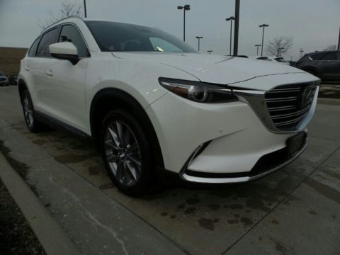 Snowflake White Pearl Mica 2020 Mazda CX-9 Grand Touring AWD