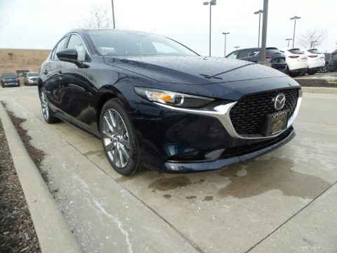 Deep Crystal Blue Mica 2020 Mazda MAZDA3 Preferred Sedan AWD