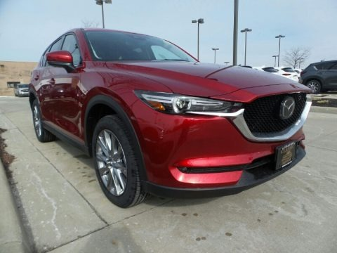 Soul Red Crystal Metallic 2020 Mazda CX-5 Grand Touring AWD