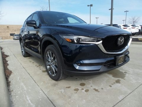 Deep Crystal Blue Mica 2020 Mazda CX-5 Signature AWD