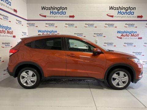 Orangeburst Metallic 2020 Honda HR-V EX AWD