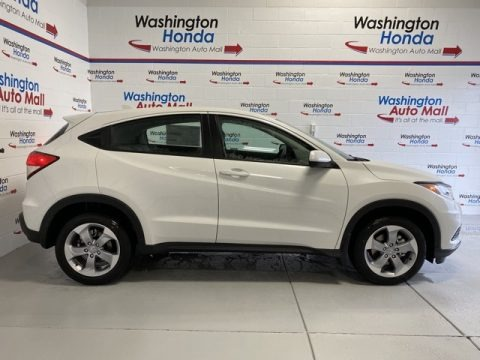 Platinum White Pearl 2020 Honda HR-V LX AWD
