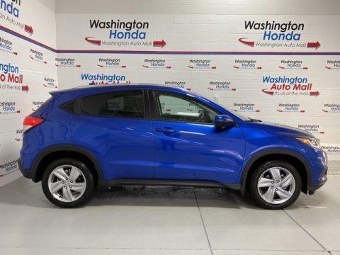 Aegean Blue Metallic 2020 Honda HR-V EX AWD