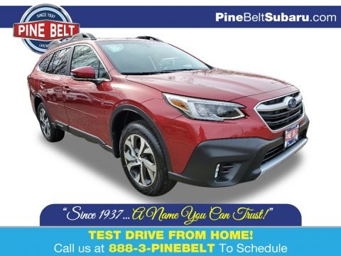 Crimson Red Pearl 2020 Subaru Outback 2.5i Limited