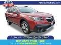 Subaru Outback 2.5i Limited Crimson Red Pearl photo #1