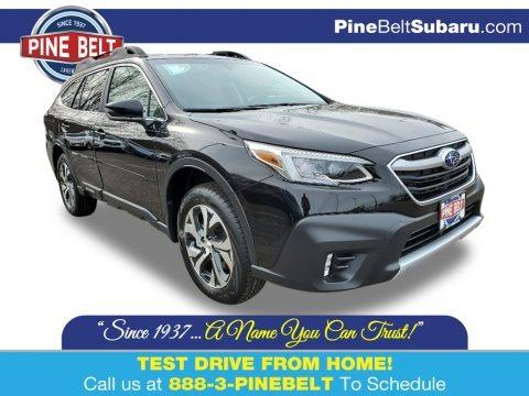 Crystal Black Silica 2020 Subaru Outback 2.5i Limited