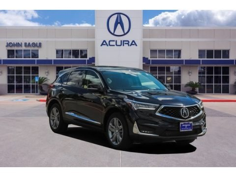 Majestic Black Pearl 2020 Acura RDX Advance