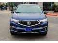 Acura MDX Advance AWD Fathom Blue Pearl photo #2