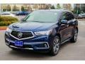 Acura MDX Advance AWD Fathom Blue Pearl photo #3