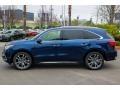 Acura MDX Advance AWD Fathom Blue Pearl photo #4