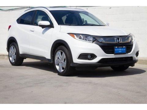Platinum White Pearl 2020 Honda HR-V EX