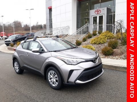 Silver Knockout Metallic 2020 Toyota C-HR LE
